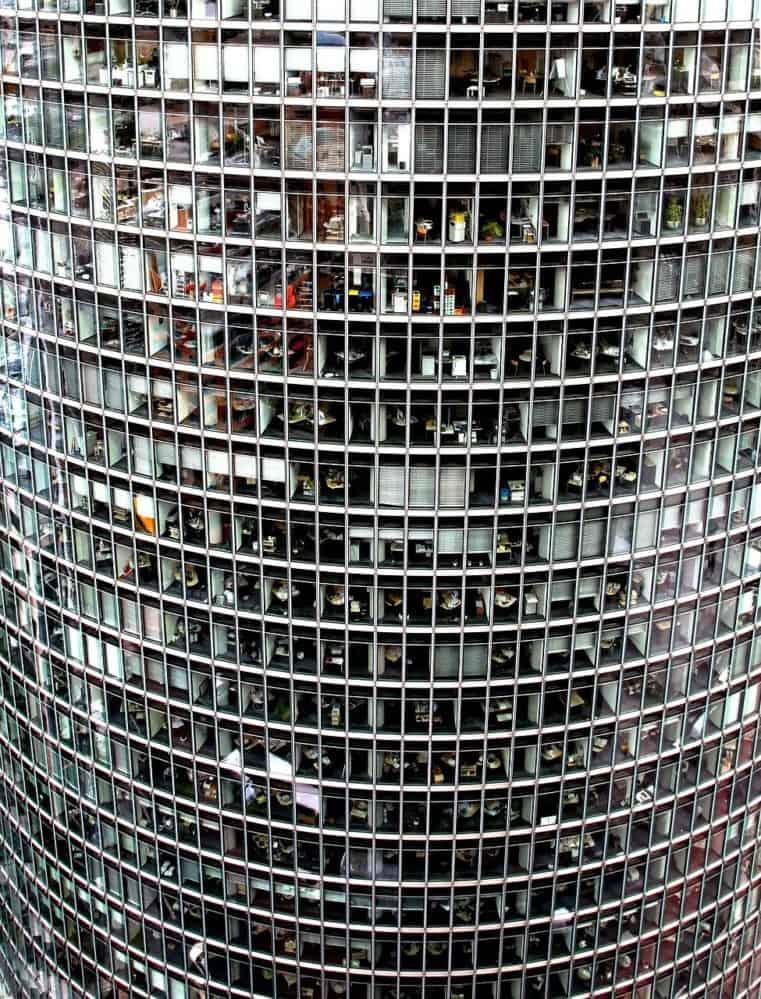 בניין משרדים עגול