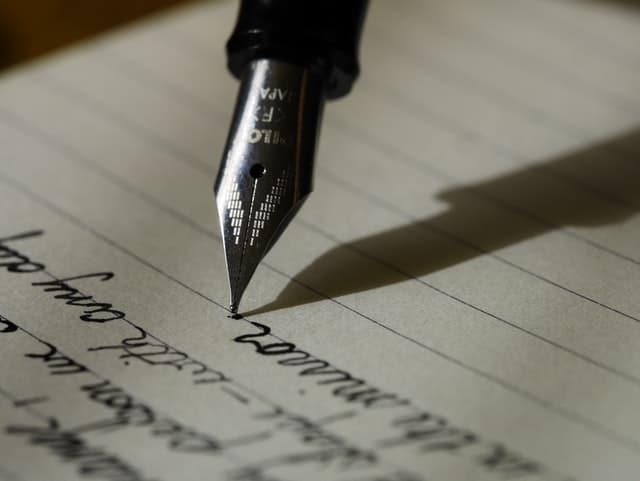מכתב צוואה - אילוסטרציה